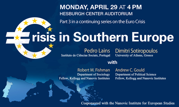 Crisis in Southern Europe