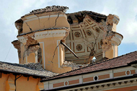 Italian Building after the Earthquake