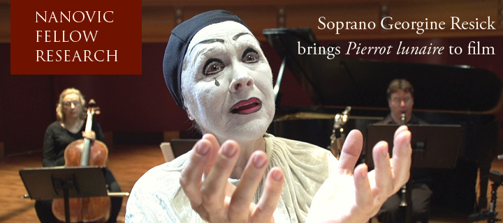 Georgine Resick as Pierrot