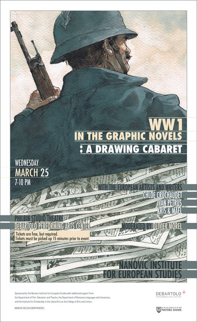 Poster of WW1 in the Graphic Novels
