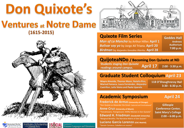 Don Quixote at ND
