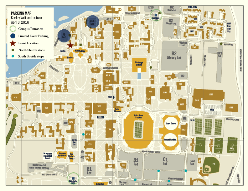 Map Of Notre Dame Campus Notre Dame Campus Map Pdf – Bestinthesw