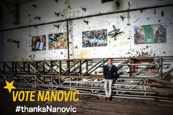 Vote Nanovic During ND Day