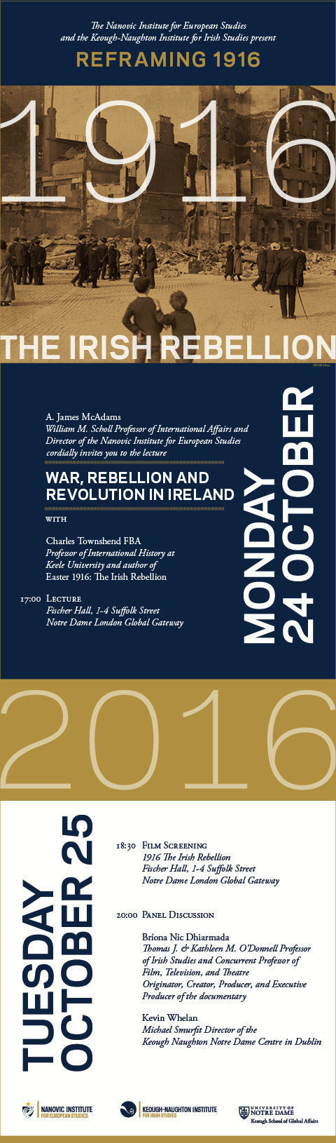 Invitation to Reframing 1916 London