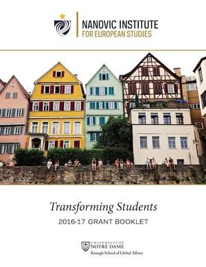 Transforming Students, the 2016-17 Grant Booklet