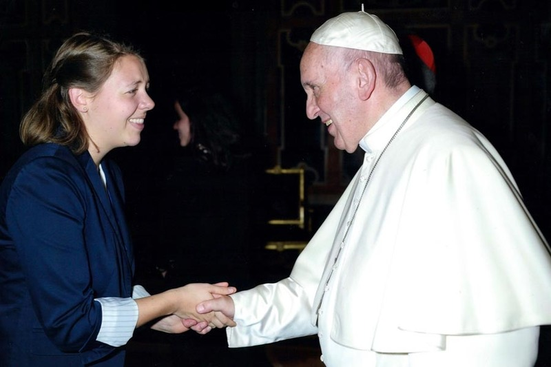 Students Meet Pope, Discuss Nuclear Disarmament