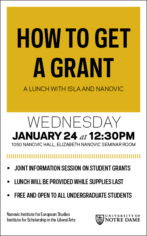 How To Get Grant Lunch