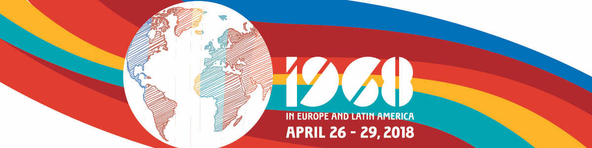 1968 in Europe and Latin America, April 26-29, 2018