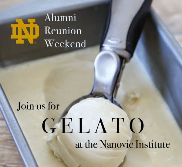 Join us for Gelato at the Nanovic Institute