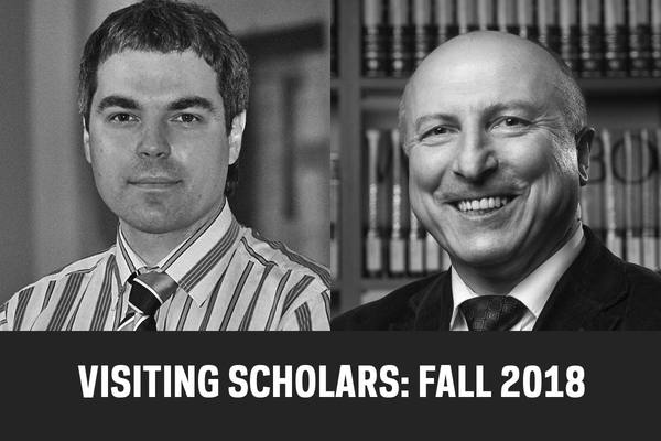 Visiting Scholars News Fall 2018