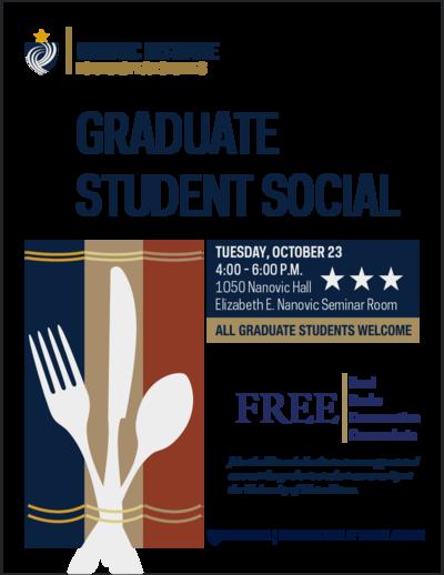 Graduate Student Social - Fall 2018