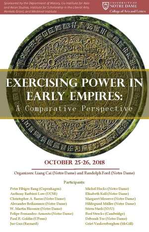 Exercising Power In Early Empires