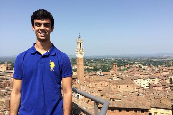 How a Study Abroad Experience Changed Mathew Morico's Course of Study