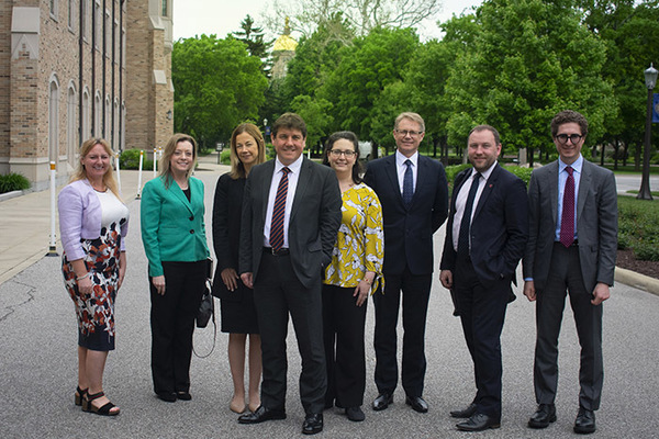 British Mp Visit May28 2019 Nanovic Web