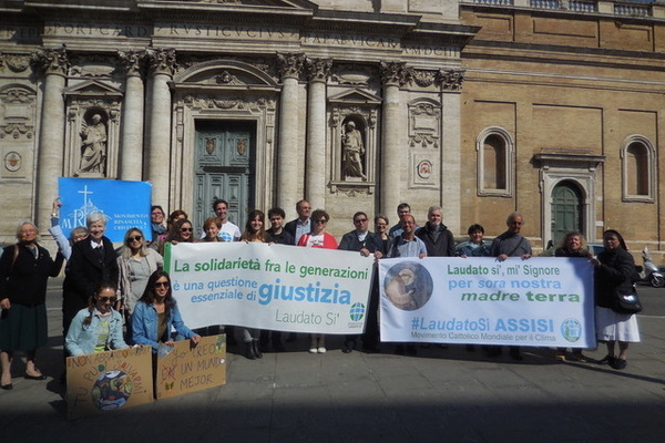 Marching for Climate Change While Interning in Rome