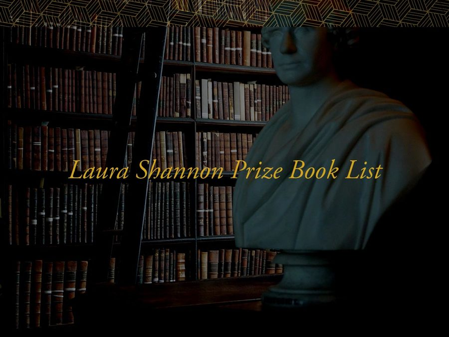Laura Shannon Prize Book List