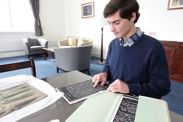 2020 Valedictorian Receives Nanovic Grant to Research in G.K. Chesterton Archive