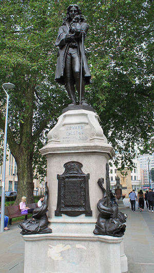 Statue Of Edward Colston By John Cassidy Self Photographed By Simon Cobb 24 June 2019 Cc0 Web