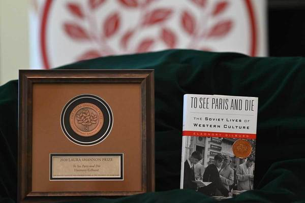 The 2020 Laura Shannon Book Prize: To See Paris and Die