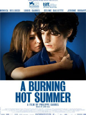 """Burning Hot Summer"" official movie poster"