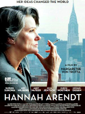 """Hannah Arendt"" official movie poster"